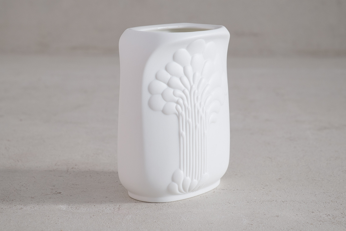Porcelain Op Art Vase by M. Frey for AK Kaiser