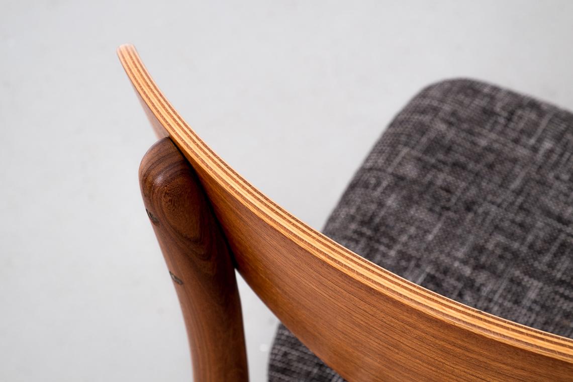 Set of 4 Danish Teak Chairs