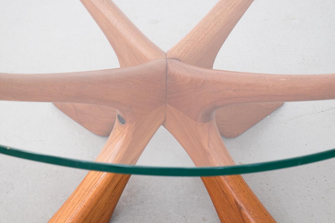 Teak Coffee Table JAX by Illum Wikkelso for Niels Eilersen