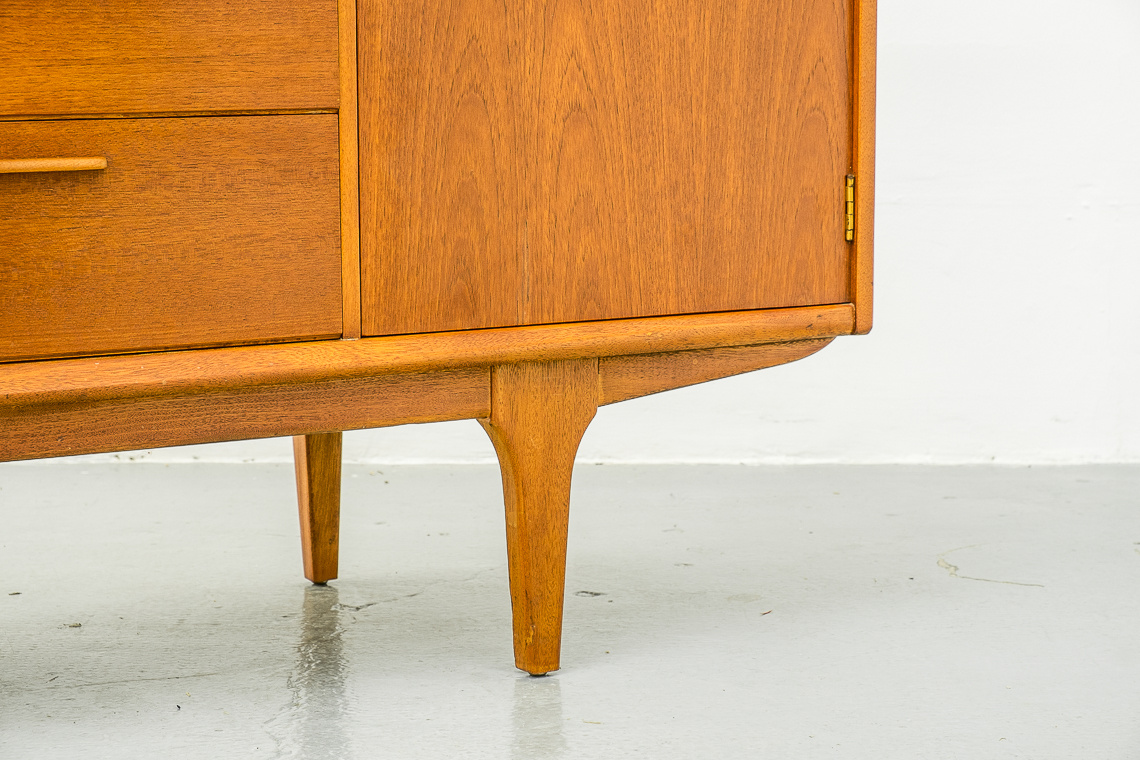 Jentique Teak High Sideboard with Drinks Cabinet