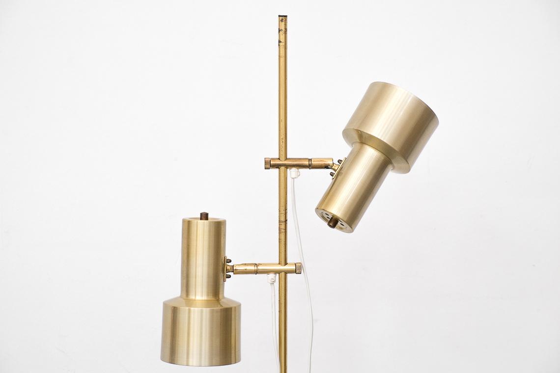 DANISH FLOOR LAMP IN GOLDEN COLOUR