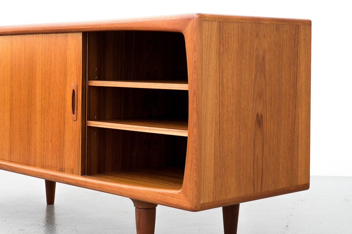 Danish Teak Sideboard from H. P. Hansen