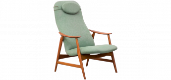 Danish Modern Teak Lounge Chair