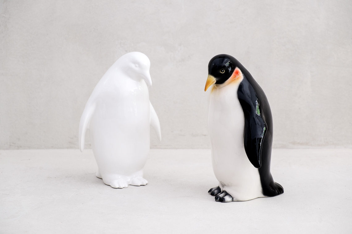 Emperor penguin (26CM) CERAMIC MADE IN ITALY