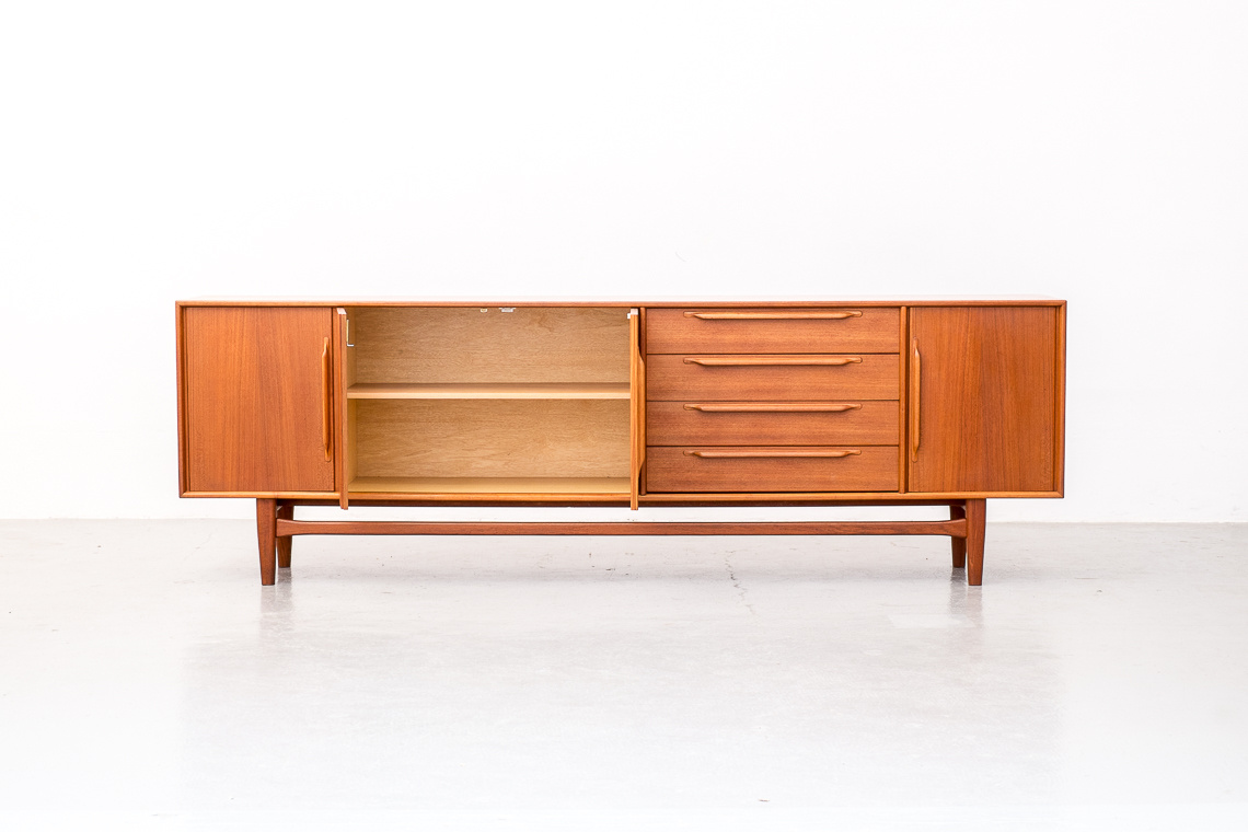 Teak Sideboard by Heinrich Riestenpatt RT Möbel Germany