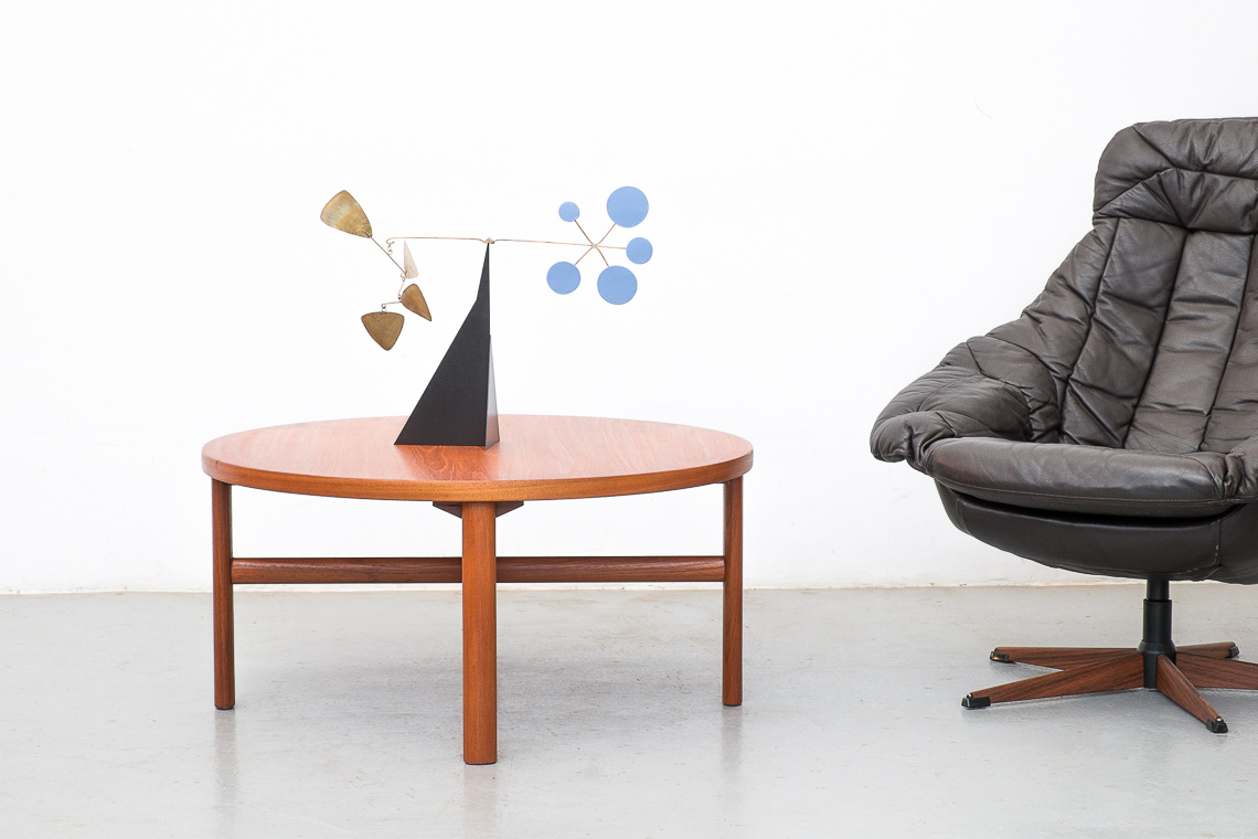 Circular Coffee Table from White & Newton