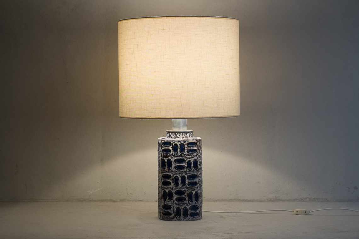 CERAMIC TABLE LAMP CAPRI BY Ilse Stephan FROM Schlossberg Keramik