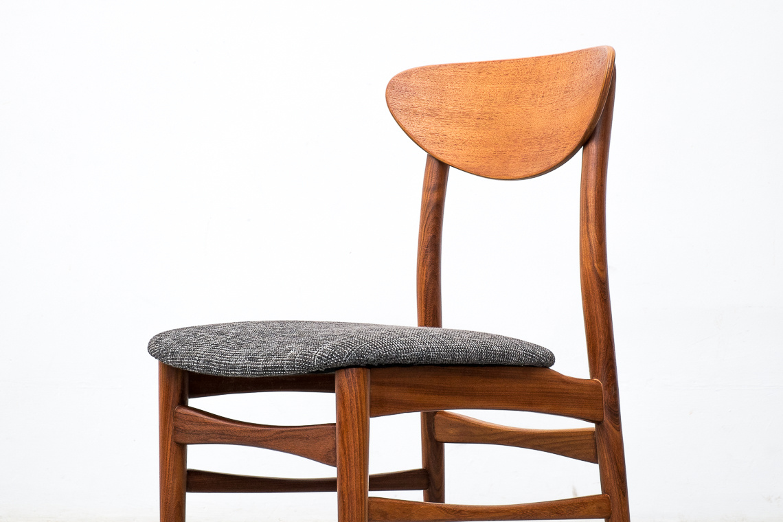 SET OF 4 Danish Teak Dining Chairs