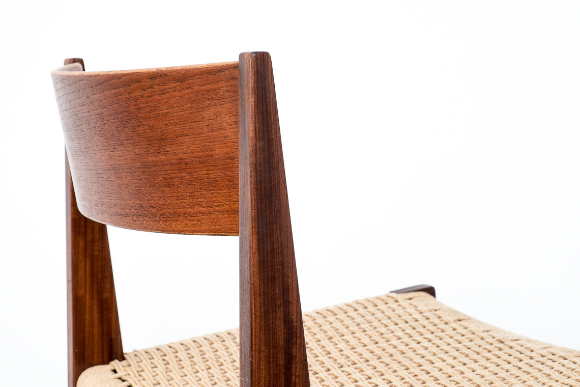 Set of 3+ (1free) Dining Chairs PIA by Poul Cadovius
