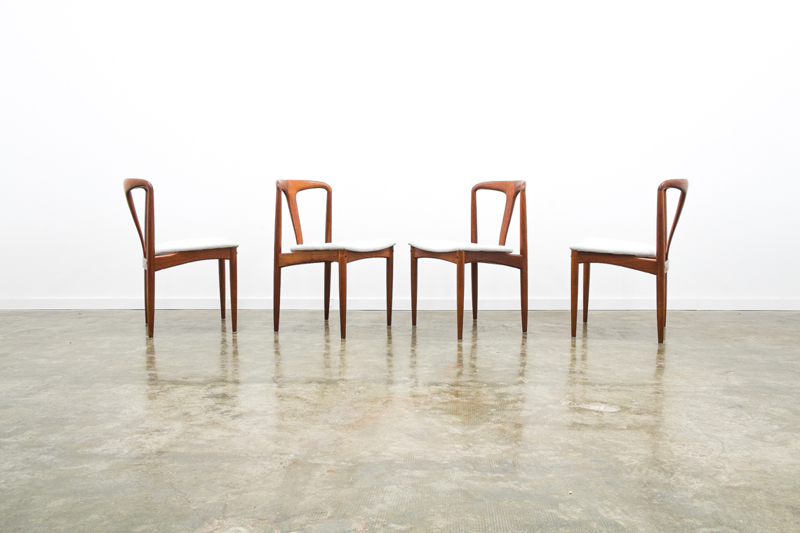 Set of 4 chairs Juliane by Johannes Andersen