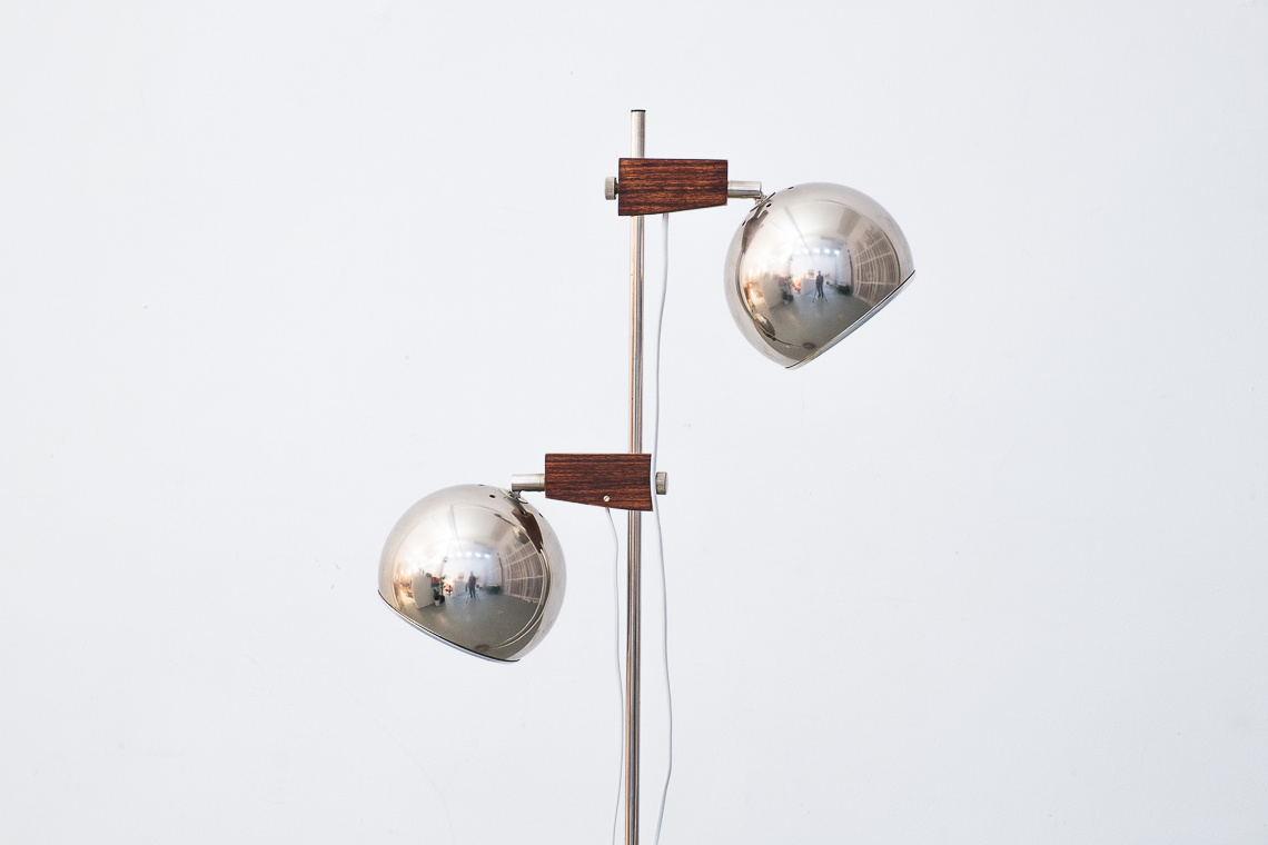 Floor Lamp typ131 by Temde Switzerland