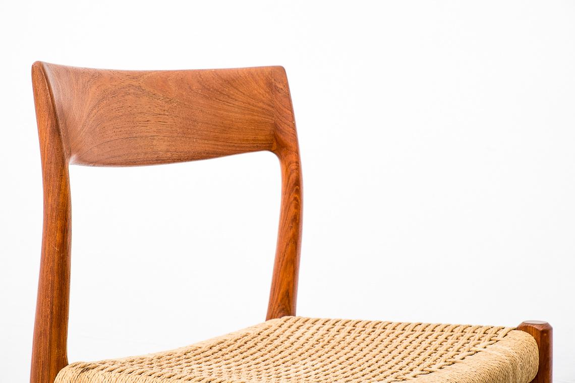 dinner chair Model 77 by Niels Otto Møller for JL Møllers Møbelfabrik