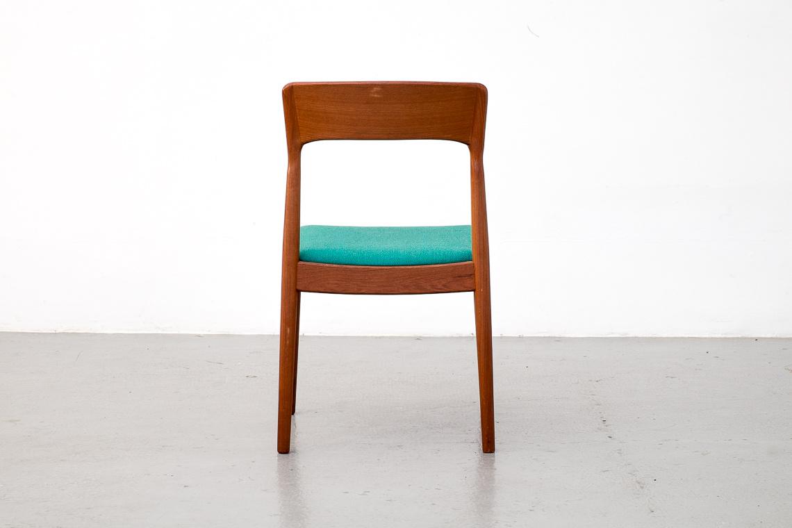 Set of 4 Mid-Century teak Dining Chairs by Kai Kristiansen for Korup Stolefabrik