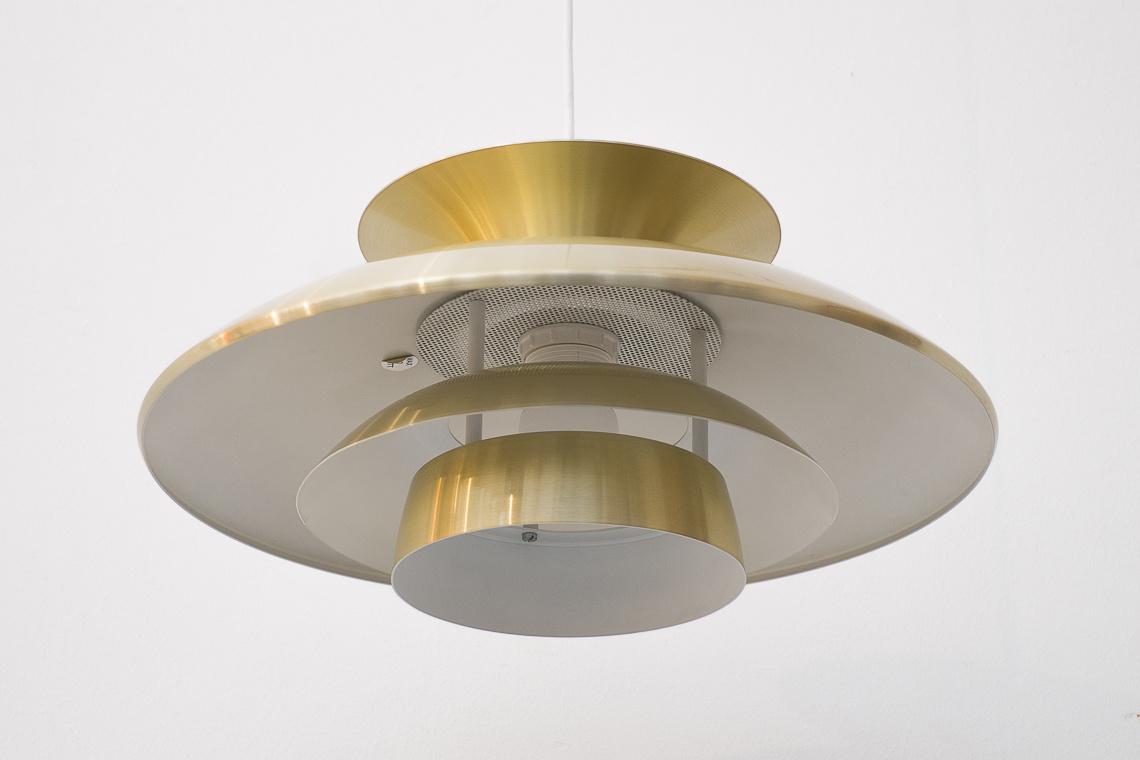 Golden Pendant Lamp from Top-Lamper Denmark