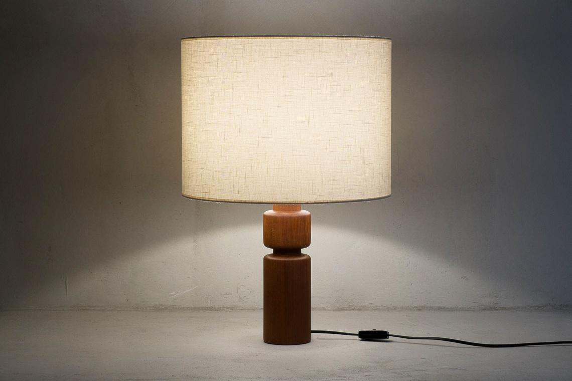 TEAK LAMP BY DOMUS DENMARK