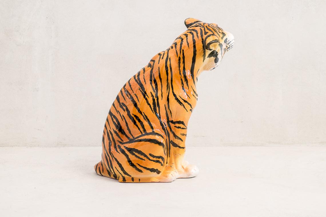 Italian Ceramic Tiger