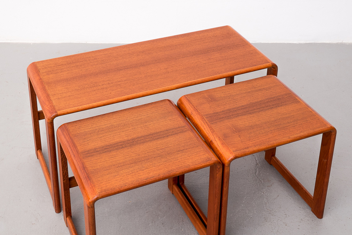 Teak large Nesting Tables