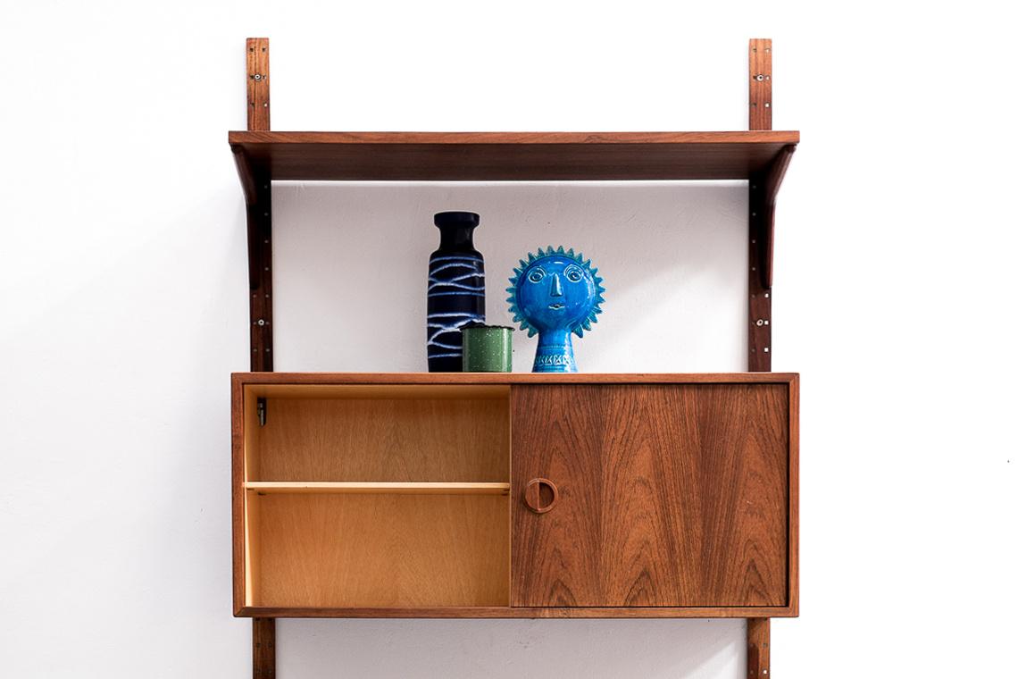 Rosewood Wall Unit by Rud Thygesen & Johnny Sorensen Shelving for HG Furniture