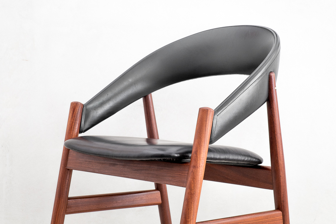 Mid-Century Modern Danish Chair in Teak