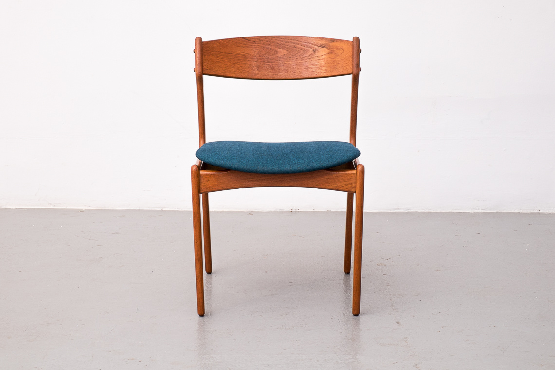 Set of 4 Dining Chairs by Erik Buch for O.D. Møbler