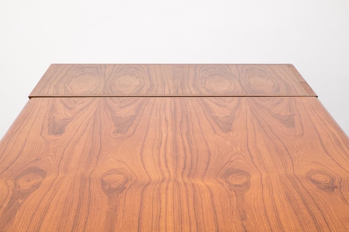 DANISH MODERN TEAK DINING TABLE BY N&R MOBLER
