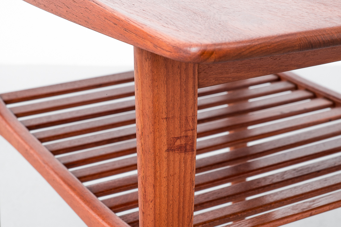 Teak Side or Coffee Table by Tove and Edvard Kindt-Larsen