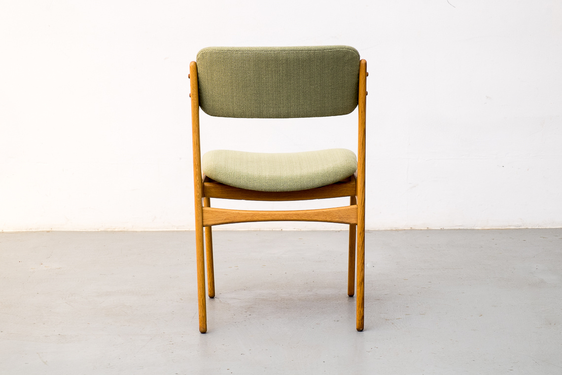 Set of 6 OAK Dining Chairs model nº49 by Erik Buch for O.D. Møbler