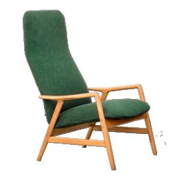 Alf Svensson Kontour Reclining Lounge Chair for Fritz Hansen Denmark