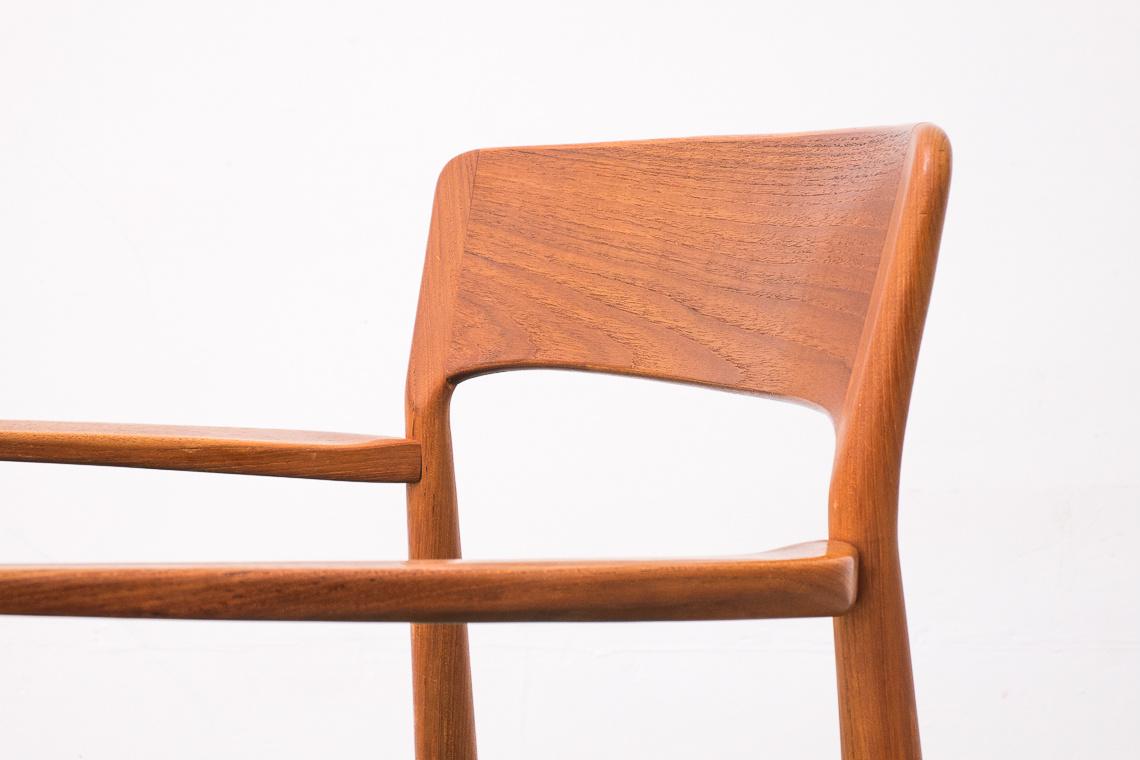 Teak Armchair by K.S. Møbler