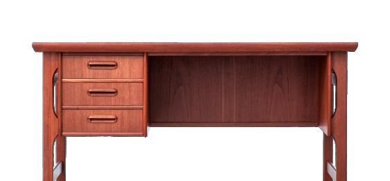 Mid Century Danish desk from G.M. Tibergaard.