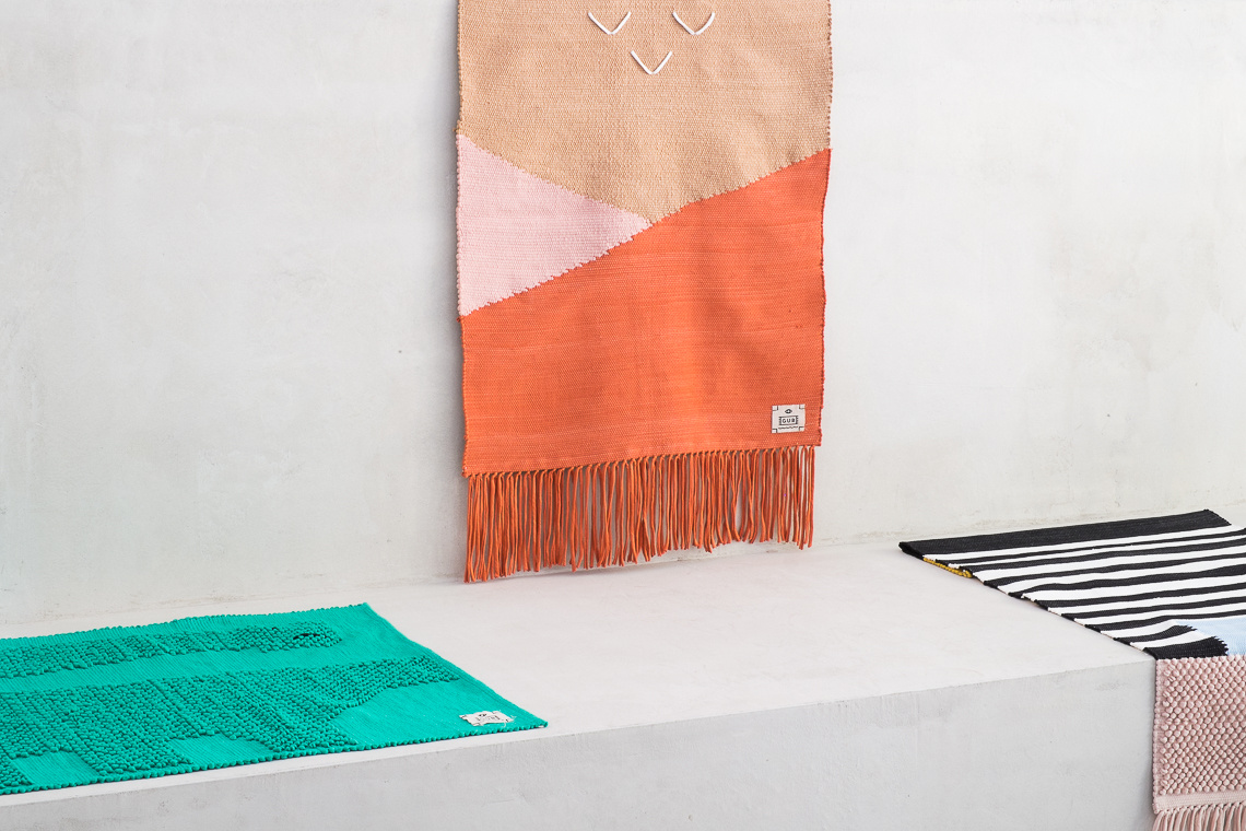 rug by Serena Confalonieri for GUR