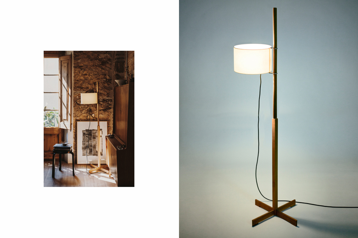 TMM Floor Lamp by Miguel Milà for Santa & Cole