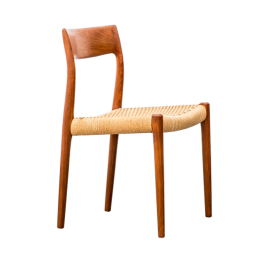 dinner chair Model 77 by Niels Otto Møller for JL Møllers Møbelfabrik