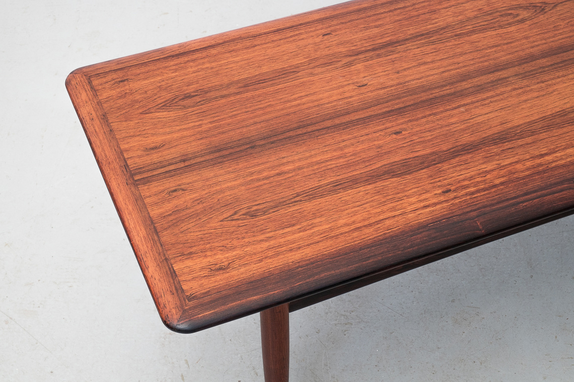 Large ROSEWOOD coffee table FROM Jason Møbler DENMARK