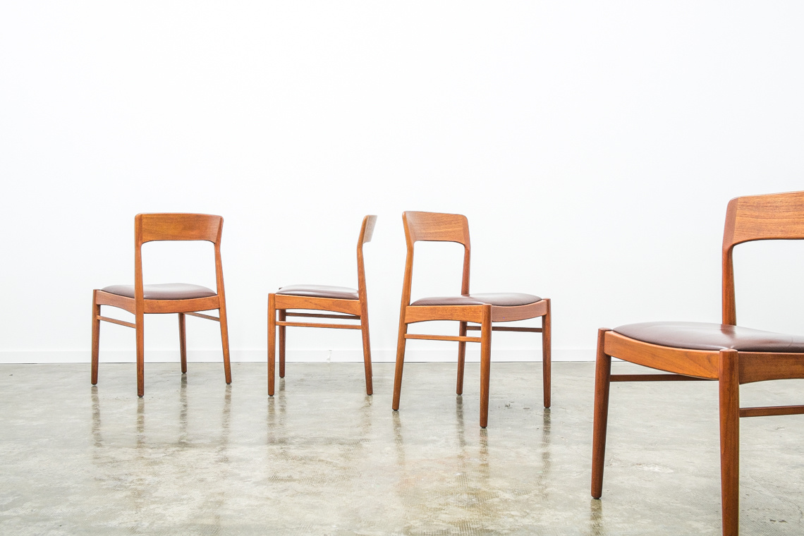 Set of four Dining Chairs by Kai Kristiansen