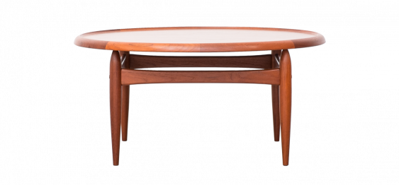 Coffee Table by Ejvind Johansson for Louis Pontoppidan, 1960s