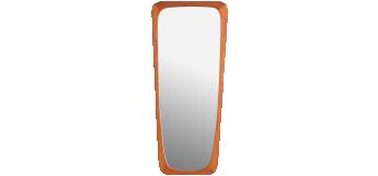 DANISH MODERN TEAK wall MIRROR BY AARHUS G&G