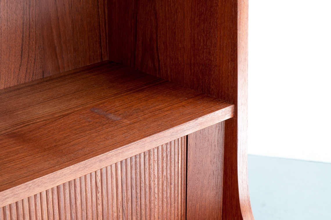 Secretaire with Bookcase by Johannes Sorth for Bornholm, 1960s