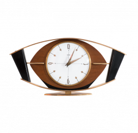 Mid-Century Electric Wall Clock from METAMEC