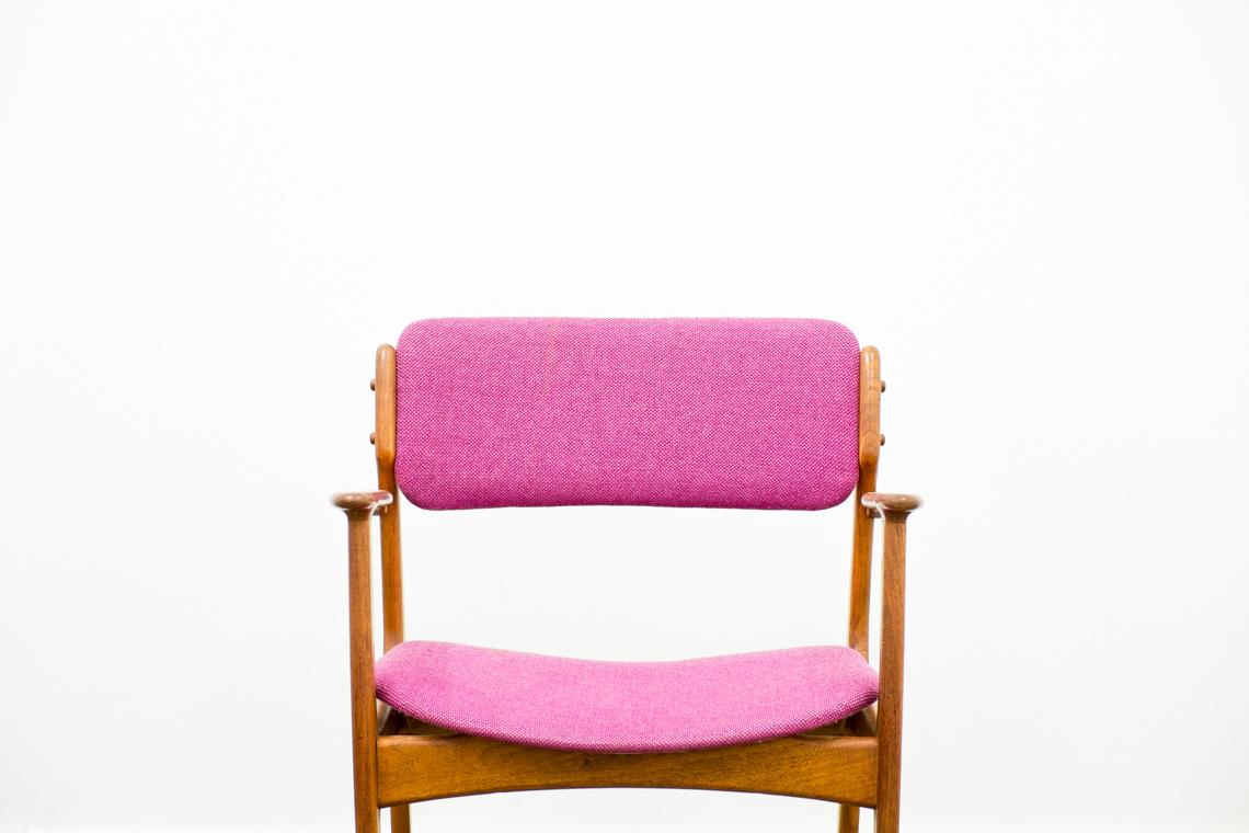 Pink chair of Erik Buch