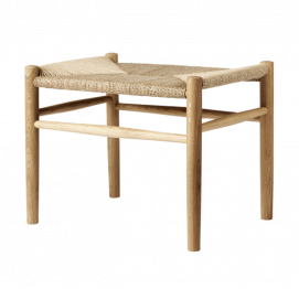 STOOL  J83 by Jørgen Bækmark for FDB Møbler