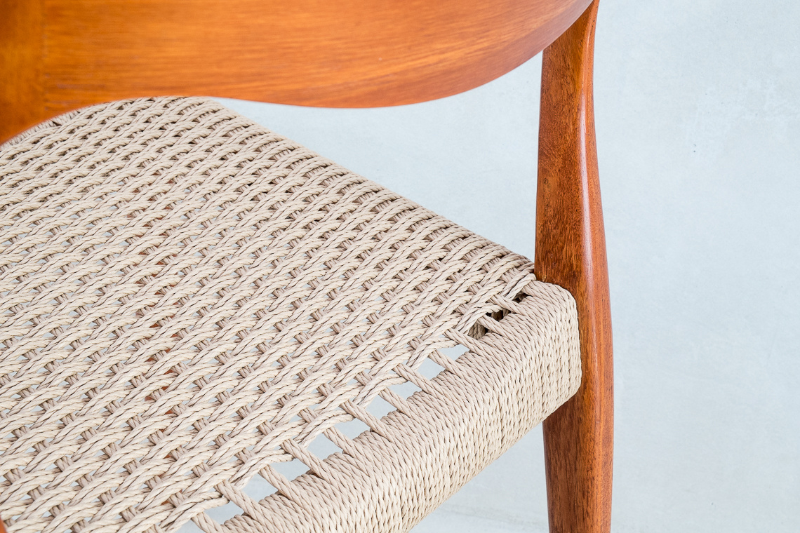 Teak Dining Chair by Niels Otto Moller for J.L. Møllers