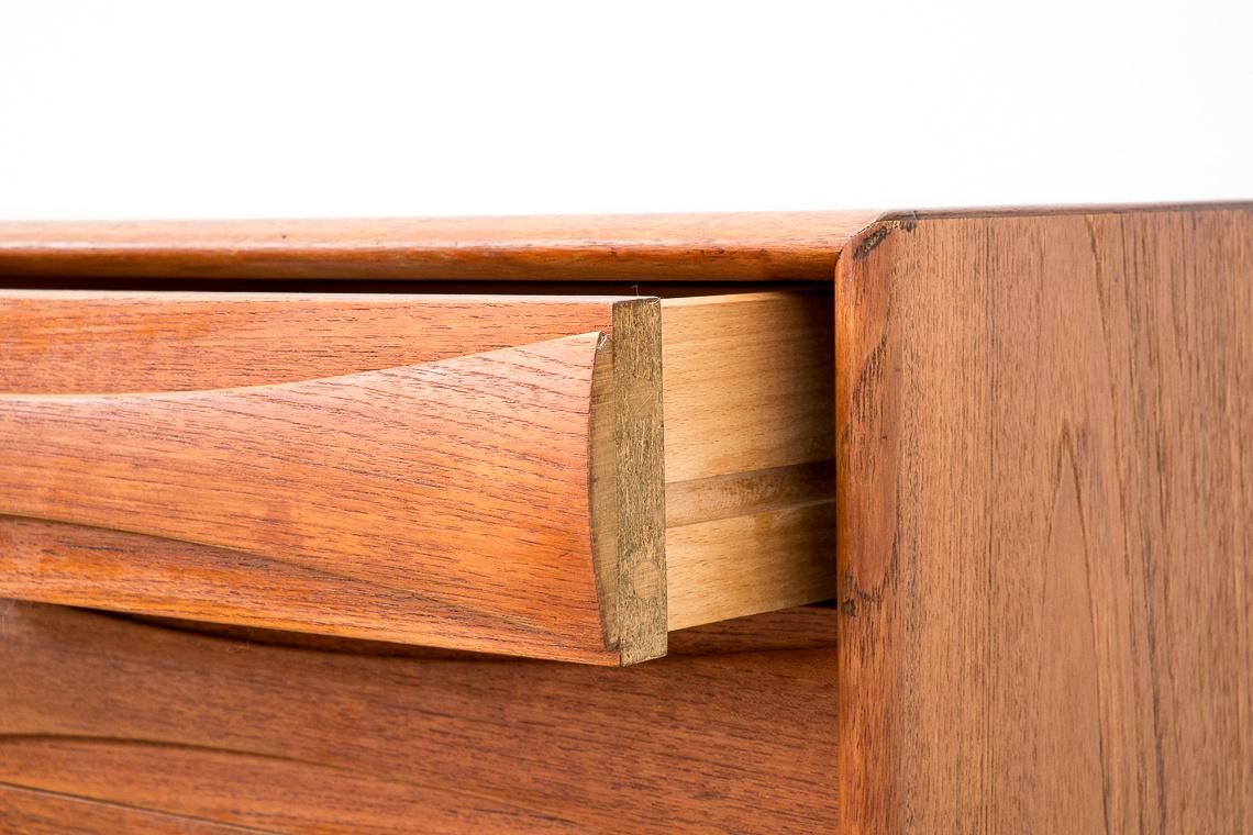 Midcentury Norwegian Teak Sideboard by Sven Andersen
