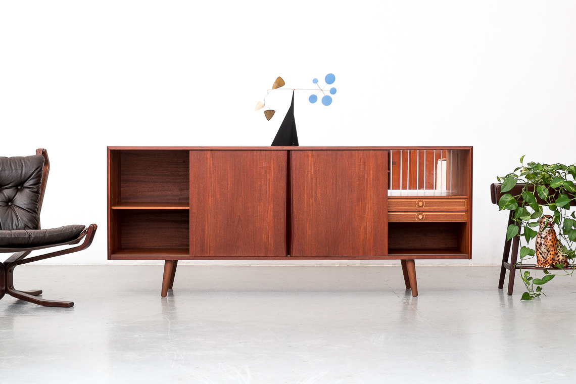 Danish Teak Sideboard by E.W. Bach For Sejling skabe