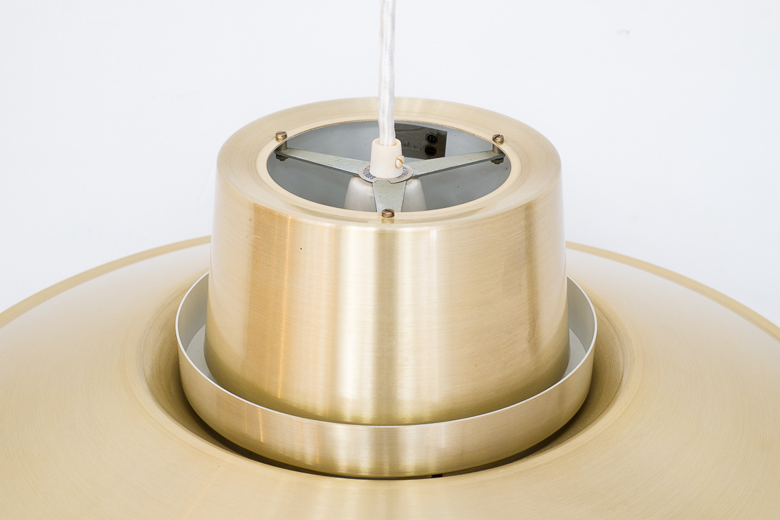 Brassed Verona Pendant Light by Svend Middelboe for Nordisk Solar