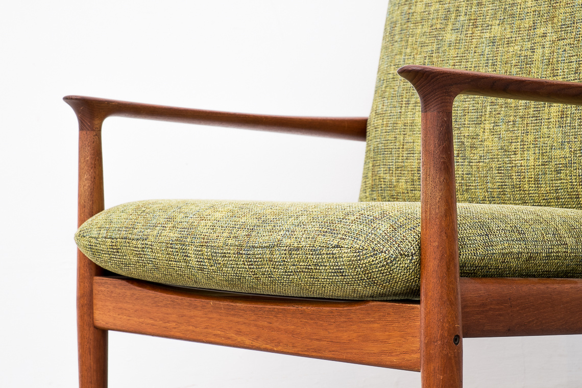Teak Easy Chair by Grete Jalk for Glostrup