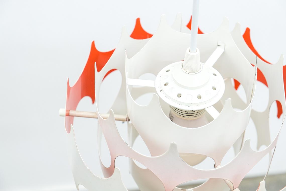 Lamp of VEB METALL DRÜCKER