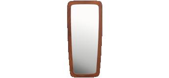 Mid Century Teak Wall Mirror