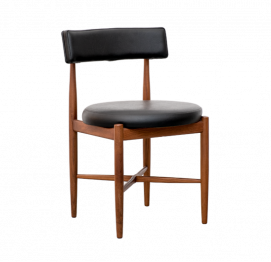 SET OF 4 FRESCO DINING CHAIRS BY V.B. WILKINS FOR G-PLAN
