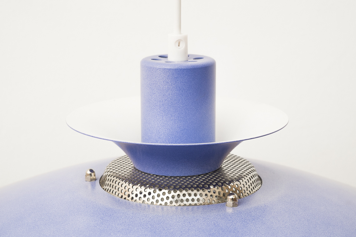 CAPRI blue hanging lamp by Jeka Metaltryk